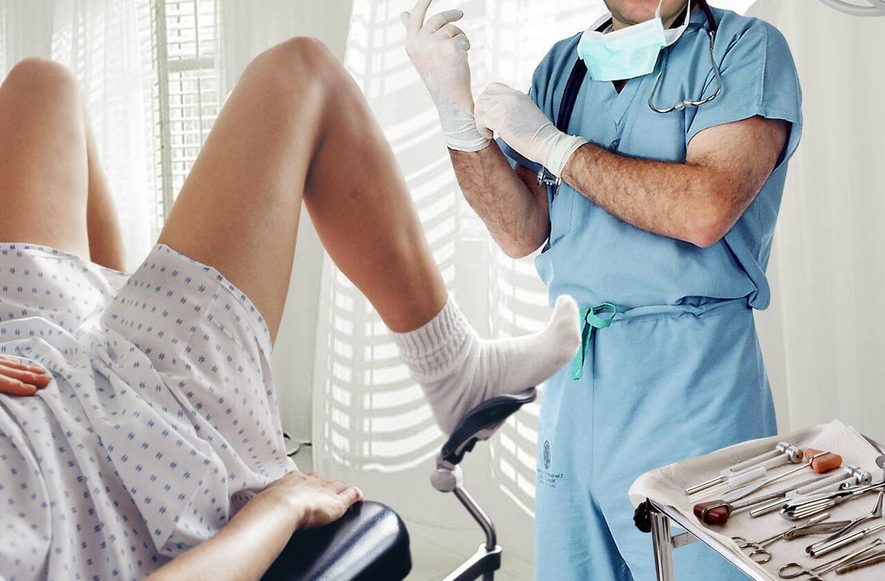 Осмотр у гинеколога - важная составлящая послеоперационного периода